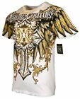 XTREME COUTURE by AFFLICTION Men T Shirt SIREN Tatto Biker MMA UFC S 4X 40