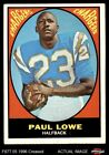 1967 Topps #121 Paul Lowe Chargers VG $3.5 USD on eBay
