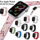38/40/42/44mm Silicone Wrist Band Bracelet For Apple Watch iWatch Series 4/3/2/1