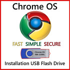 Chrome OS USB Flash Drive 32/64 Bit Install Repair Live Boot Recover PC *UPDATED