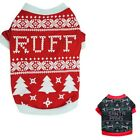 EXCLUSIVE T-shirt For Dogs Design Santa Christmas Themed Winter Warm Red Clothes