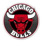 Chicago Bulls Round  Decal / Sticker Die cut on eBay