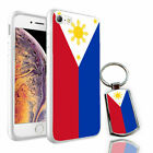 Philippines Flag Printed Hard Case for Various Phone Models + Free Keyring- 0139