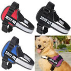 Dog Pet Vest Harness Collar W/ Removable Patches for Large Extra Big Medium Dogs