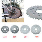 Wheel Sprocket 32 - 44T Tooth Motorized Gas Cycle Bicycle 50cc 60cc 80cc H/P New image
