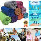Instant Cooling Towel Ice Cold Enduring Summer Sport Running Jogging Gym Fitness image