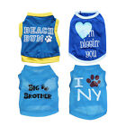 XS/S/M/L Dog Clothes Boy Pet Puppy Vest T Shirt Apparel For Small Dog Cat Summer