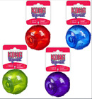Genuine Kong Squeezz Ball Dog Toy - Choose Color & Size - Free Fast Shipping