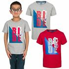 Trespass Stefano Short Sleeve Boys Summer T-Shirt Casual Printed Top Tee