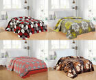 Modern Soft Lightweight Thin Throw Fleece Blanket Queen Size Design Options image