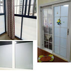 Bedroom Bathroom Home Glass Window Door Privacy Film PVC Frosted Sticker New