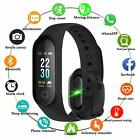 Fitness Watch M3 Band Smart Blood Pressure Bracelet Wristband Tracker Heart Rate