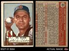 1952 Topps #383 Del Wilber Red Sox VG/EX
