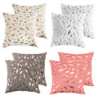 "1pc 2pcs  18"" Soft Velvet Throw Pillowcase Cushion Sofa Bed Pillow Cover Decor image"