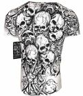 XTREME COUTURE by AFFLICTION Men T-Shirt THE ACCUSER Skull Biker MMA GYM S-4X$40 image
