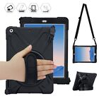 360 Swivel Stand Hand Strap Adjustable Hybrid Case For iPad 2017 2018 9.7inch
