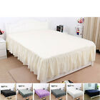 "14"" Pleated Bed Skirts Hotel Quality Dust Ruffle - 7 Color image"