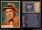 1953 Topps Who-Z-At Star #14 William Demarest VG