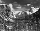 Yosemite Valley from Inspiration Point, Winter