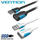 USB 2.0 Male to Female Extension Cable Data Sync Extender fr Office Desktop V2P8