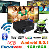 Excelvan Wifi Android 6.0.1 8GB LED Home Theater Projector Full HD 1080P 4K HDMI