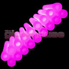 """50x 6 inch 1.5cm Thick Glow Sticks - Single or Mixed Colour 6"""" 15mm Glowhouse"""
