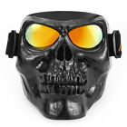 Goggles Glasses Face Mask Motorcycle Riding Sport Dirt Bike Protector Skull Mask