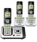 LANDLINE SET SYSTEM DECT 6.0 BLUETOOTH CORDLESS HOME PHONE ANSWERING MACHINE LOT фото