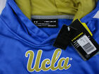 UCLA Bruins Under Armour Storm Sideline Blue Fleece Hoodie Youth MD LG NWT