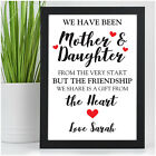 Personalised Birthday Christmas Xmas Gifts for MUMMY MUM NANNY from Daughter