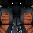 PU Leather Luxury Seat Cushion Pad Covers Front Bucket for Auto Car SUV 4 Colors $139.99 USD on eBay