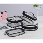 Waterproof PVC Zip Pouch Kit Transparent Clear Travel Cosmetic Wash Bag Storage#