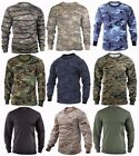 Rothco Military Tactical Long Sleeve Camo T-Shirts - Sizes: S-2XL