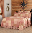 SAWYER MILL RED QUILT -choose size & accessories-Farmhouse Bedding VHC Brands image