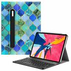 For iPad Pro 11'' Smart 7 Color Backlight Bluetooth Keyboard Cover+Pencil Holder