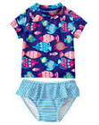 NWT Gymboree Swim shop Fish Rash Guard Set Swimsuit UPF 50 Toddler many Sizes