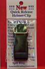 """""""New"""" Motorcycle Quick Release Helmet Buckles Fits Up To 3/4"""" Strap-2 Styles"""