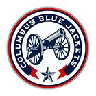 Columbus Blue Jackets Round  Precision Cut Decal / Sticker $3.49 USD on eBay