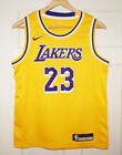 Youth Nike LeBron James #23 Los Angeles Lakers Icon Edition Gold Swingman Jersey on eBay