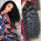 100% Virgin Human Hair Wigs Deep Curly Silk Base Full Lace Wig Pre Plucked Cheap