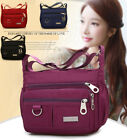 Women Waterproof Single-shoulder Messenger Crossbody Bag Nylon Purse Travel Lady image