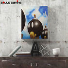 Bob-omb Battlefield Canvas Painting Wall Art Prints Decor Gifts Super Mario 64