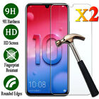 2Pcs Tempered Glass Screen Protector Film For Huawei Honor 7 8X 8 9 10 Lite CA