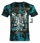 XTREME COUTURE by AFFLICTION Men T-Shirt STEEL MILL Biker MMA Gym S-4X $40 image