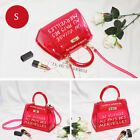 Women Variety Colours Trendy Clear Voyage Au Pays Handbag Across Body Bag Tote