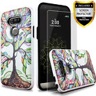 For LG G5 & LG G6 Phone Case, Shockproof Cover+Premium Screen Protector+Stylus