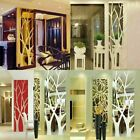 Modern Mirror Style Removable Decal Tree Art Mural Wall Stickers Home Decor Us