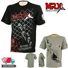 Mens Gym T Shirt MMA Training  Bodybuilding Sports Fitness Men Casual Tee Top