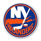 New York Islanders Round  Precision Cut Decal / Sticker $3.49 USD on eBay