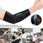 Black Unisex Sports Elbow Support Protector Brace Guard Protective Arm Sleeve
